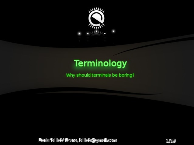 terminology - why should terminals be boring?