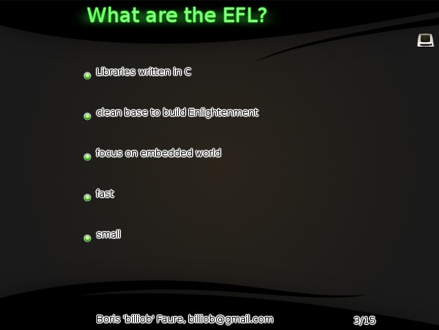 what are the EFL?